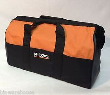 "New Ridgid 22""  X 10 "" X 13 Large Heavy Duty 5pc 6 Pocket  Tool Bag"
