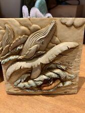 Harmony Kingdom Magnetic Tile Picturesque Noahs Park 'Whale Watch/Glacier Falls'