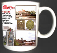 BADDESLEY COLLIERY COAL MINE MUG. LIMITED EDITION GIFT MINERS WARWICKSHIRE PIT