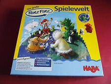* Die große Ratz Fatz Spielewelt * Lernspiel mit CD, von Haba, Art. Nr. 4540