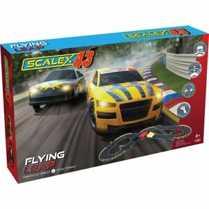 Scalextric 43 Flying leap Slot car set