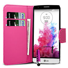 Flip Wallet Leather Case Cover Pouch Book For LG G3 LG P880 LG G3s G3