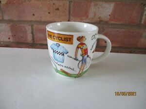 Queens Churchill At Your Leisure Mug - The Cyclist