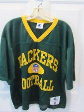 Vintage Starter Green Bay Packers Mesh NFL Practice Jersey Sz men's medium 1990s