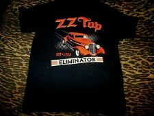 Zz Top Est 1969 Eliminator Tour 2017 T-Shirt Medium Black