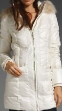 NEW JUICY COUTURE $398 ANGEL SHIMMER PUFFER HOODED DOWN COAT JACKET SZ XS