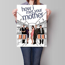 How I Met Your Mother Poster TV Series 16.6 x 23.4 in (A2)