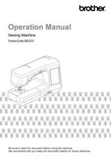 Brother Innov-is VQ2400 Sewing Machine Owners Instruction Manual Reprint