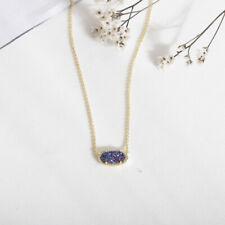 NEW Kendra Scott Elisa Pendant Necklace In Multicolor Drusy
