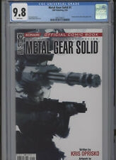 METAL GEAR SOLID #1 MT 9.8 CGC WOOD COVER AND ART BASED ON KONAMI VIDEO GAME SER