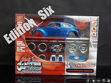 Maisto Custom Shop 1:24 Volkswagen VW Beetle model kit Classic Modified Car NEW