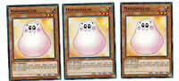 3 x Marshmallon ys17-de015, Common, Playset, Link Strike, MINT