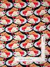 Slices of Cherry Pie Black Cotton Fabric Kanvas Studio Sweet Treat By The Yard