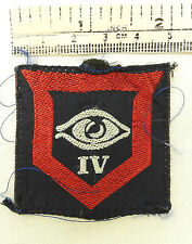 British Military 4th Guards Armoured Division  Cloth Formation Badge (3621)