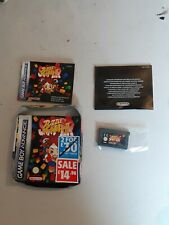 SUPER PUZZLE FIGHTER 2 GAMEBOY ADVANCE / GBA /  DS STREET FIGHTER PUZZLER