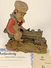 Chief 1986 Tom Clark Gnome Signed Figurine 1131 Coa Story Train 25