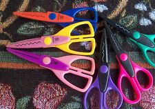 6 Decorative Scrapbooking Scissors Trim Photo Paper & Corners Of Photos~Used