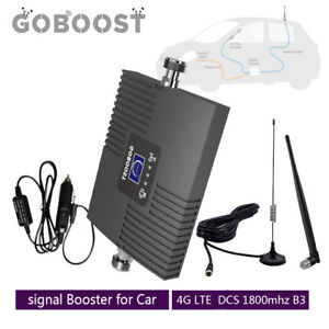 Goboost 4G LTE 1800mhz Band3 Phone Signal Booster for Car Truck RV repeater