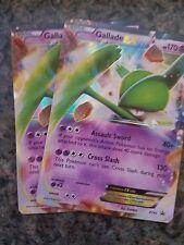 x2 Gallade-EX - XY45 - Gallade-EX Box Promo Pokemon XY Promos NM/VLP