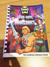 100% Unofficial Mattel He-Man Masters Of The Universe Collectors Guide Book