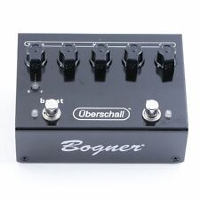 Bogner Uberschall Distortion Guitar Effects Pedal P-06922