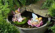 POLYRESIN FAIRY DESIGN FLOATIE, 2/ASST.