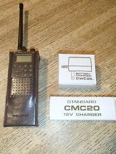 Standard Horizon marine hand phone 6 vintage, one Ac & one Dc charger Rare
