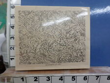 Stampin Up!  lace background paisley swirls   RUBBER STAMP 29s