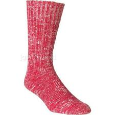 New Men Levis Levi's Socks Rediscovered Long Socks One Pairs Red size 9-12 Yarn