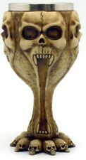 Medieval Screaming Skull - Chalice/Wine Goblet