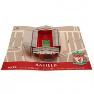 Liverpool FC 3D Stadium Pop Up Birthday Card With Envelope Gift Xmas New Present