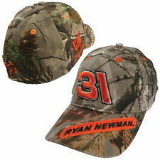 Nascar driver Ryan Newman # 31 Real tree camo hat. Cat Racing Fitted M/L