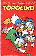 [559] TOPOLINO ed. Mondadori 1961 n.  270 stato Ottimo