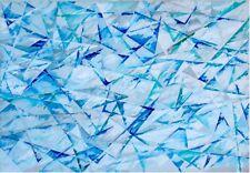 """Eduardo PALUMBO, """"Giochi di Cristallo"""" del 1991, 70x100 Esposto e Pubblicato!!!"""