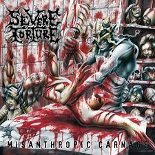 SEVERE TORTURE - Misanthropic Carnage - LP - DEATH METAL