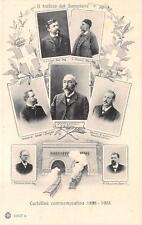 A4194) IL TRAFORO DEL SEMPIONE 1898-1905, I COSTRUTTORI GLI INGENIERI. VG 1906.