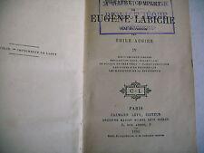 théâtre eugène Labiche E. Augier 1892