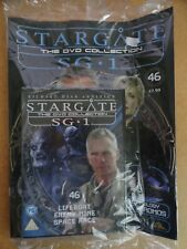 DVD COLLECTION STARGATE SG 1 PART 46 + MAGAZINE - NEW SEALED IN ORIGINAL WRAPPER
