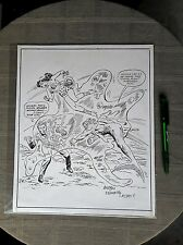 ORIGINAL ART MIKE ESPOSITO RECREATION EXCELLENT ETAT