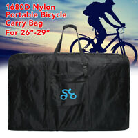 1680D 26-29''Nylon Portable Bicycle Carry Bag Cycling Bike Transport Case Travel
