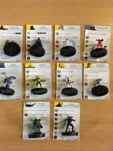 Marvel Heroclix Amazing Spider-Man Gravity Feed all 10 figures 1-10