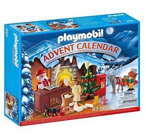 "PLAYMOBIL® Adventskalender 4161 ""Weihnachts-Postamt"" NEU/OVP NEW MISB"