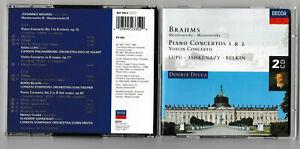 Johannes Brahms - Brahms - Piano Concertos 1 & 2 / ... - Johannes Brahms CD