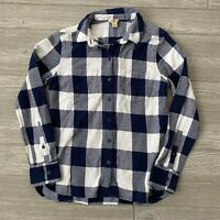 Woolrich plaid flannel button front long sleeve Shirt Womens Size small