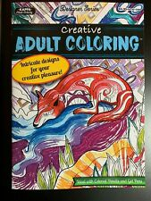 KAPPA ADULT COLORING BOOK, CREATIVE DESIGNER SERIES NEW INTRICATE DESIGNS RELAX