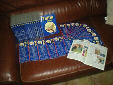 LOT DES 16 PREMIERS DVD LES AVENTURES DE TINTIN COLLECTION ATLAS AVEC FASCICULES