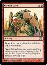 2x Goblin Lore * Magic the Gathering MTG * 10. Edition * Tenth Edition