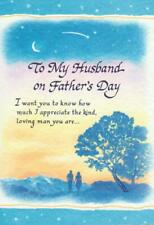Blue Mountain Arts Greeting Card, FOR MY HUSBAND ON FATHER'S DAY