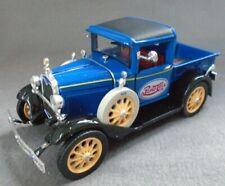 Pepsi Cola Royal Blue 1931 Ford Model A Pick Up Truck Natl Museum Mint 1:32 COA