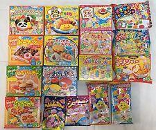 17PCS Kracie DIY making kit Happy Kitchen popin cookin Japanese candy Japan food